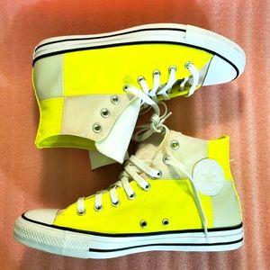 Converse, men, shoes, lemon venom, white yellow 💛